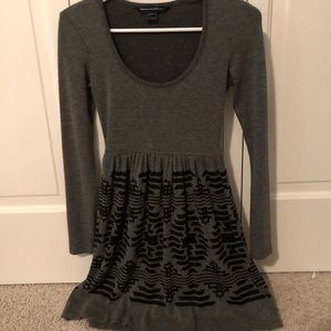 Factory connection sweater dress. 0